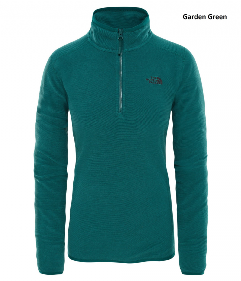 The North Face Womens 100 Glacier 1/4 Zip - Fleece Pullover
